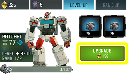 Screenshot of the Upgrade window with the Upgrade button highlighted