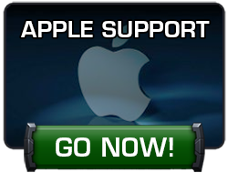 Go Now button that takes you to Apple Support