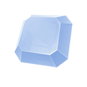 Image of a tier 2 Diamond Upgrade Gem.