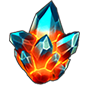 Screenshot of a Premium Hero Crystal