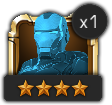An image of an Iron Man basic Champion profile icon.