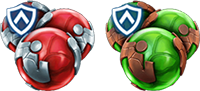 An image of an alliance team potion and an alliance team revive icons.