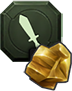 Icon for the Courage Mastery